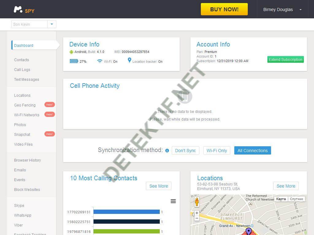 aplikasi penyadap dashboard mSpy