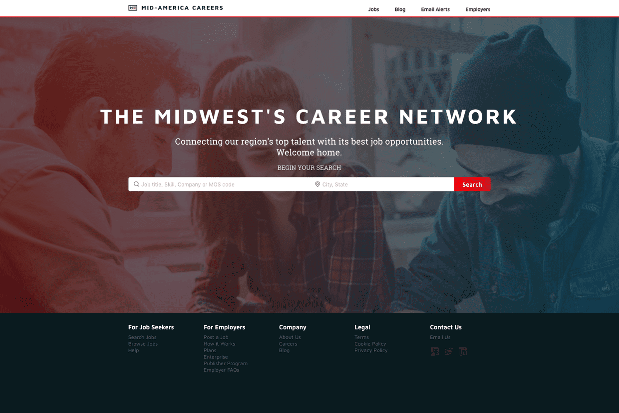 Mid-America Careers - Job Searching Platform for the Midwest Area in the US cover image