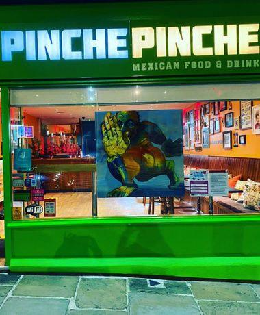 Pinche Pinche Mexican shopfront