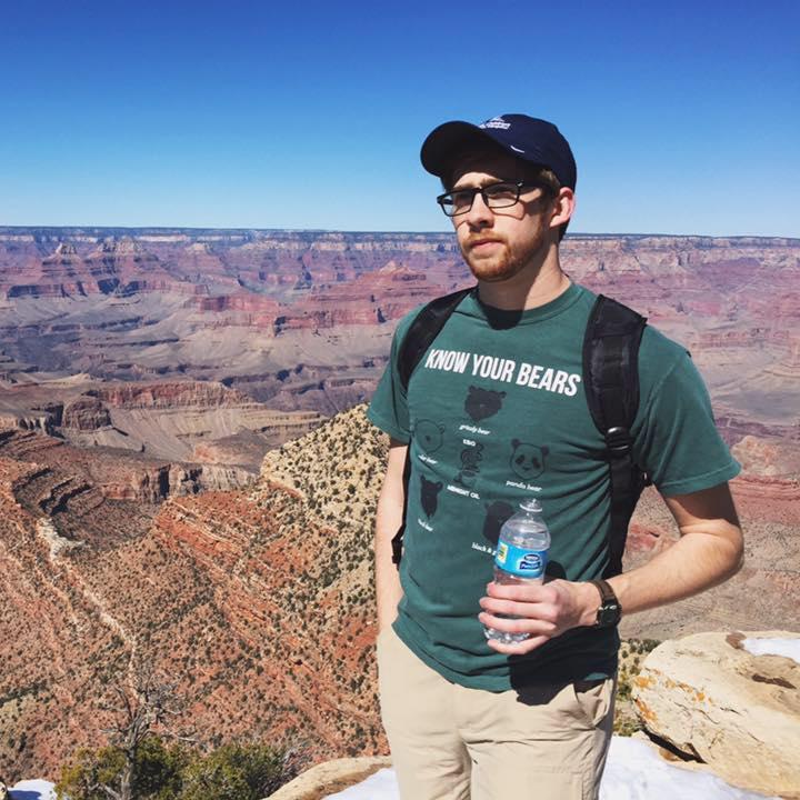 Geoff Davis at the Grand Canyon