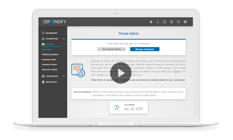 Threat Alert System