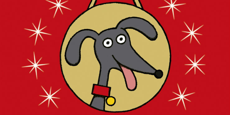 The hundred-mile-an-hour dog goes for gold! by Jeremy Strong