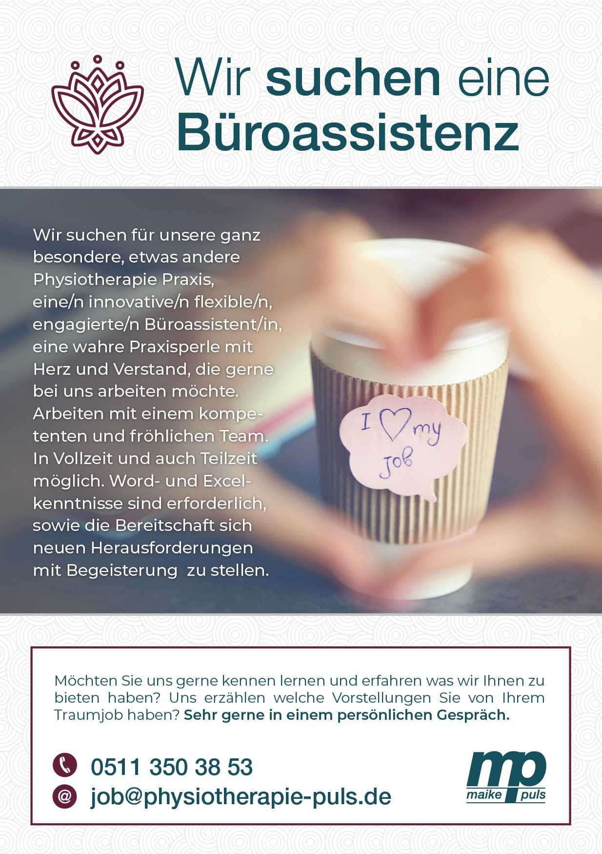Jobs in Hannover in unserer Physiotherapie Praxis