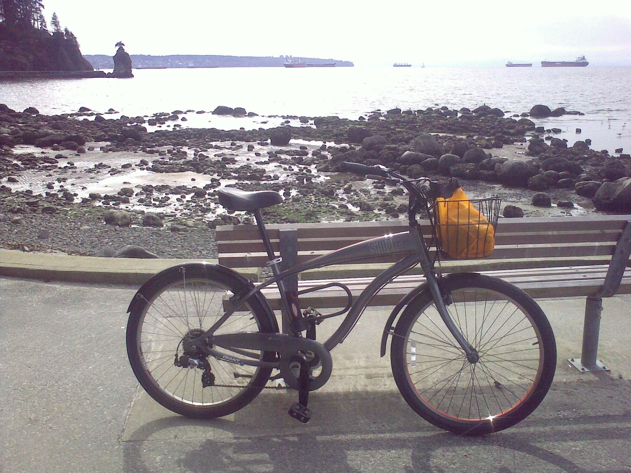 image from Biking through Stanley Park