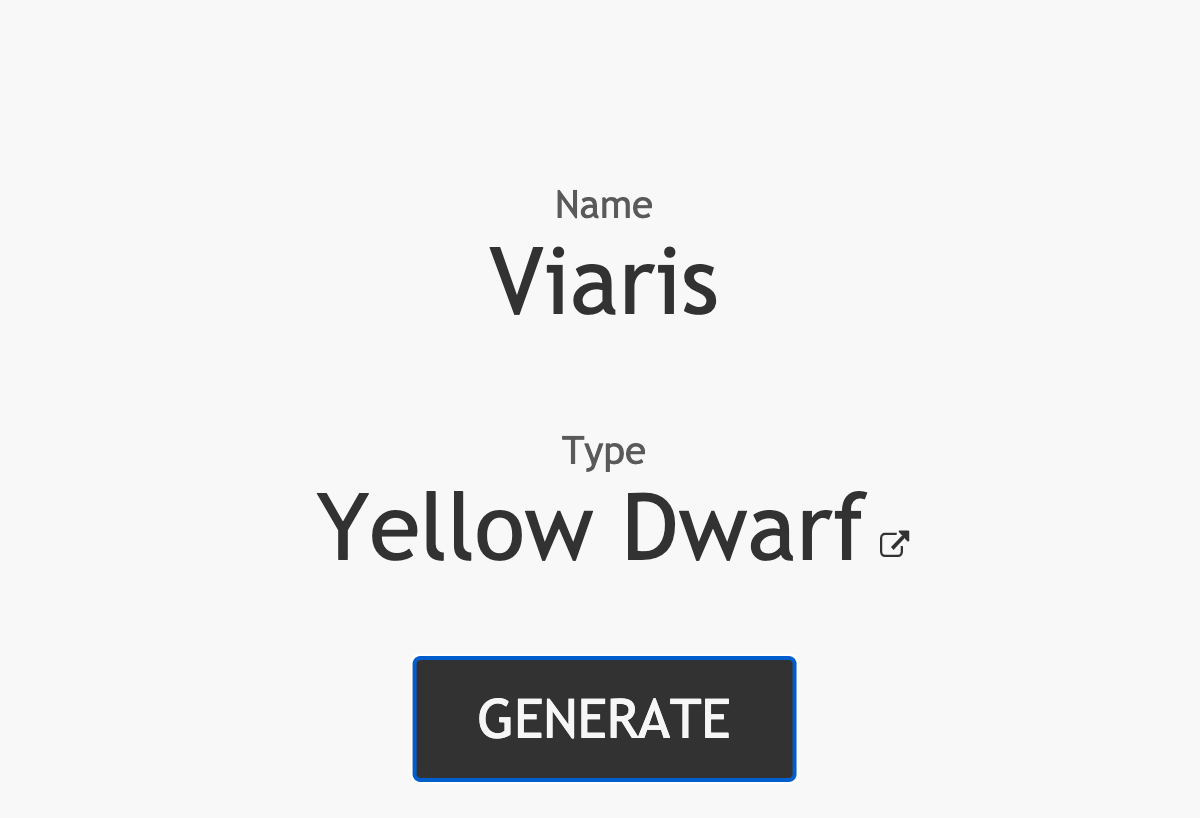 Related Content: Star Name Generator