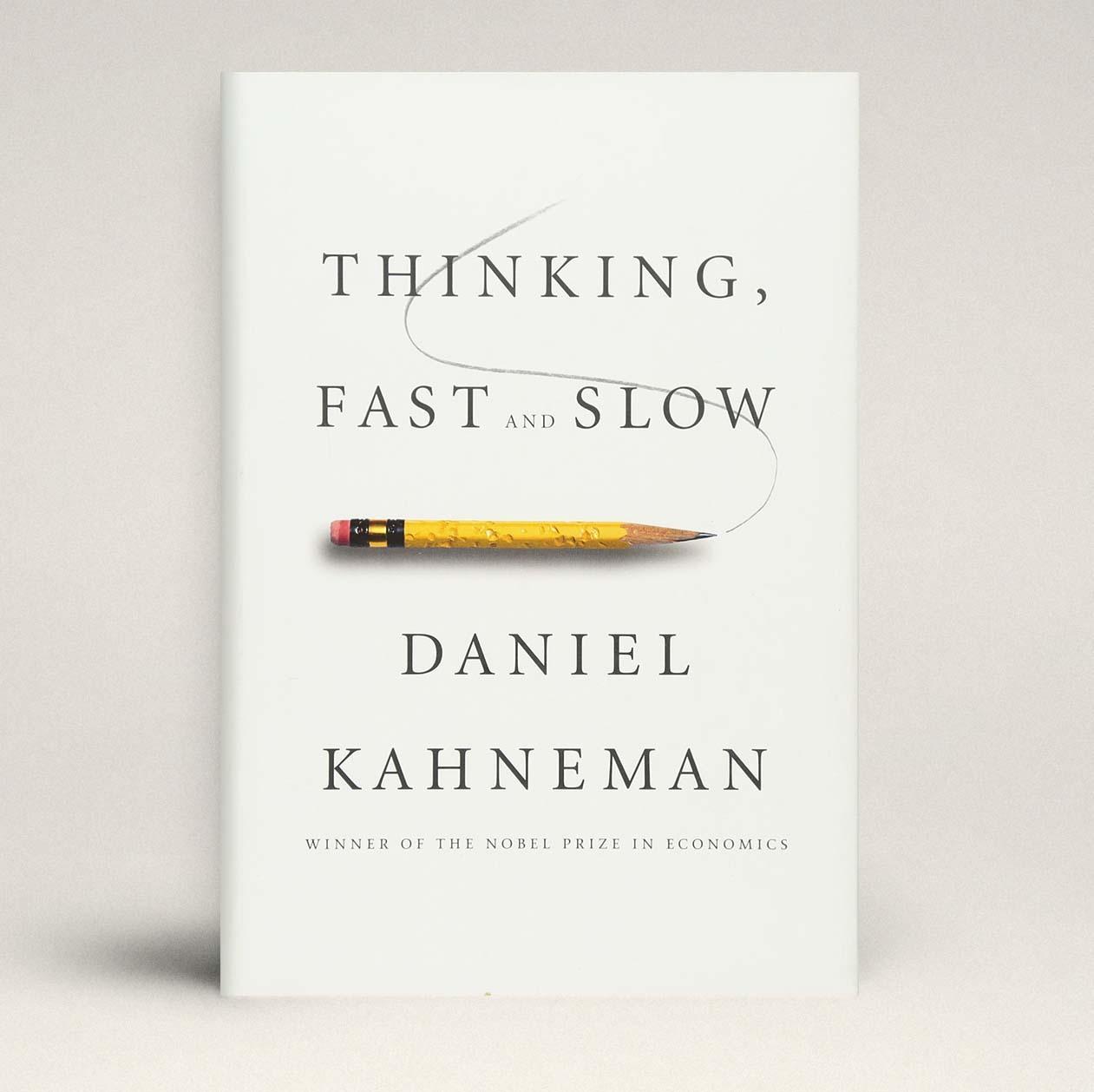 Обложка книги «Thinking, Fast and Slow»