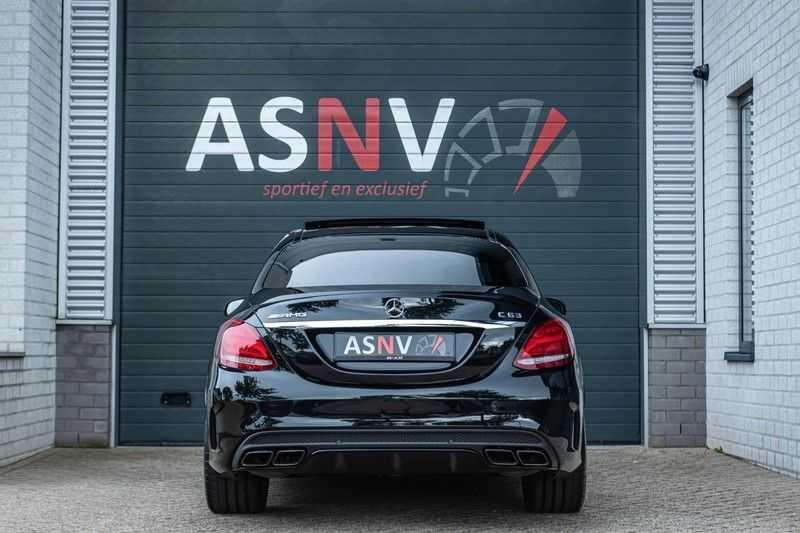 Mercedes-Benz C-Klasse 63 AMG, 476 PK, Pano/Dak, Distronic, Night/Pakket, Burmester, LED, Keyless, 30DKM, Nieuwstaat, BTW!! afbeelding 21