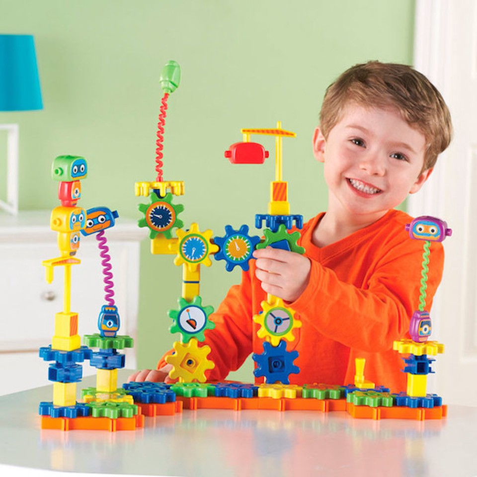 Building Connecting Toy Engineering Blocks Bars Building Game for Children Kids