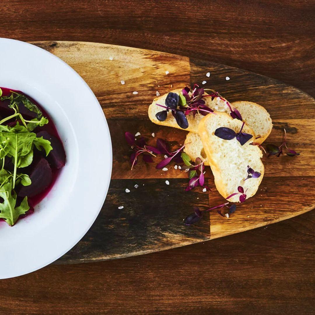 Beetroot salad at Smak!