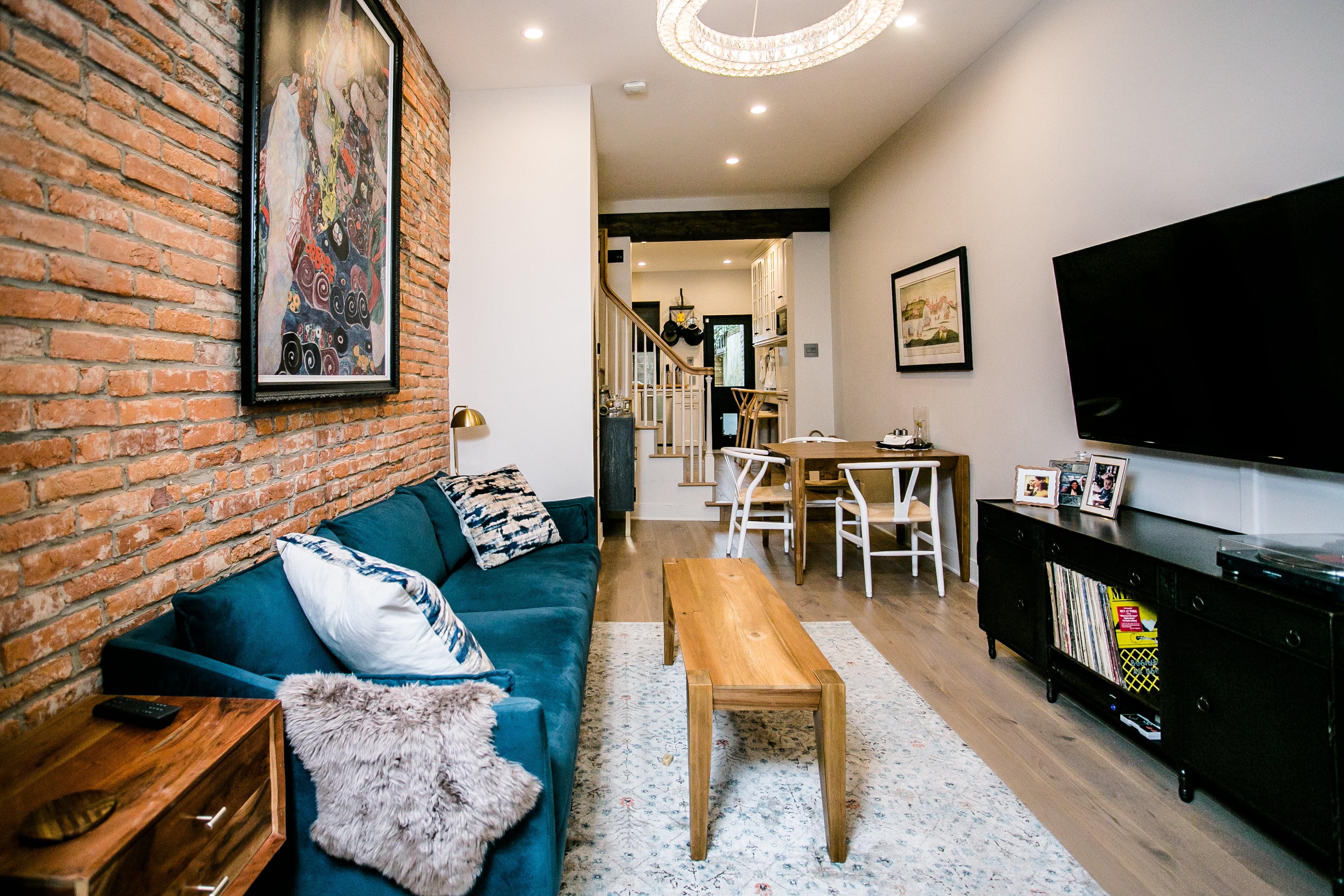 After renovation living room