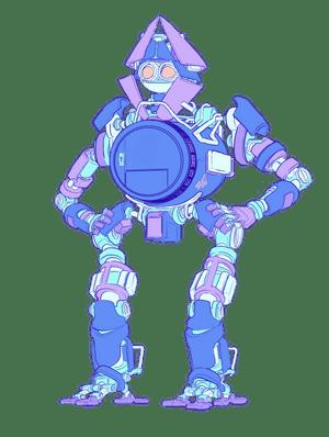 Illustration of a robot.