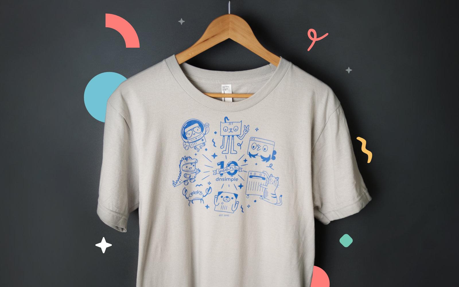 10-Year anniversary t-shirt