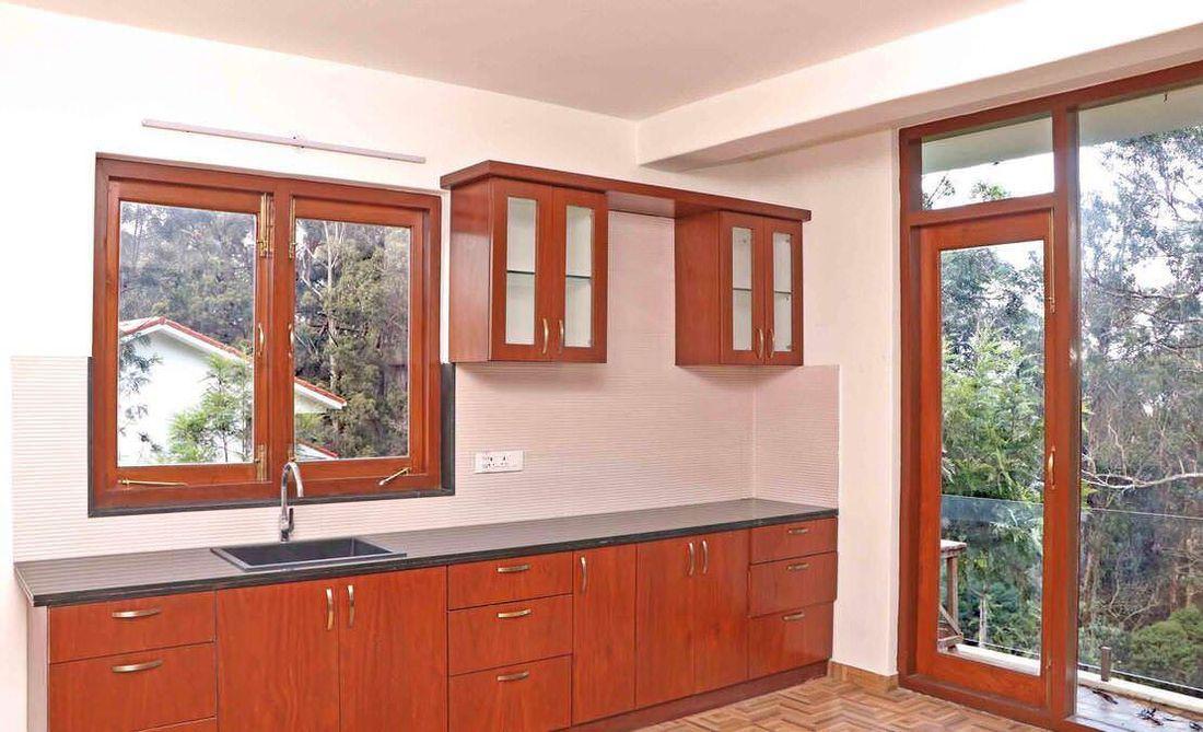 A well done modern kitchen