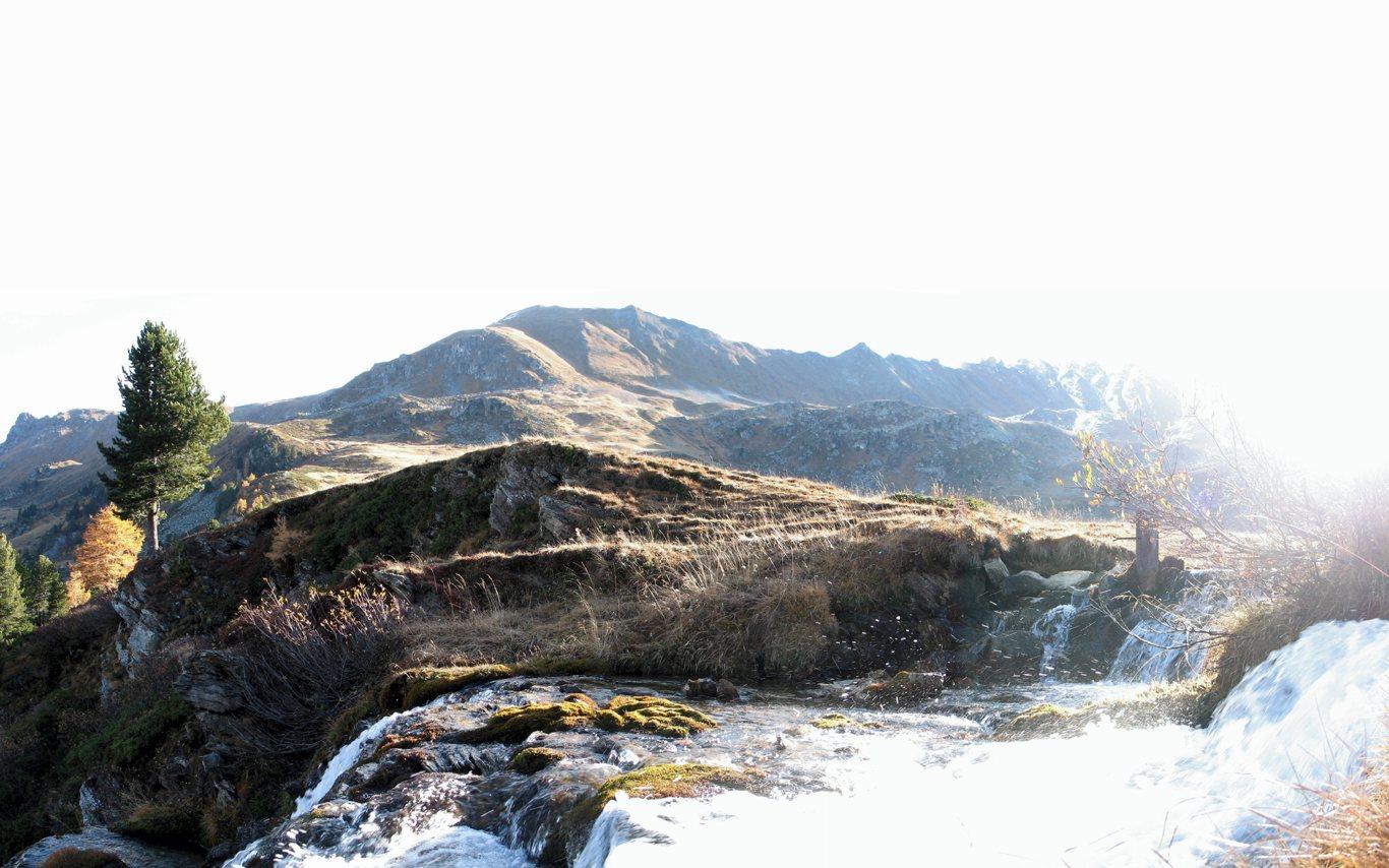Lever de soleil sur l'Ar du Tsan