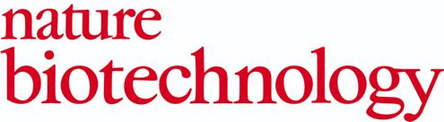 Nature biotech publications