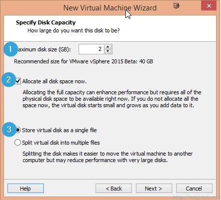 Installing VMware ESXi 6.0 in VMware Workstation 11 - 13
