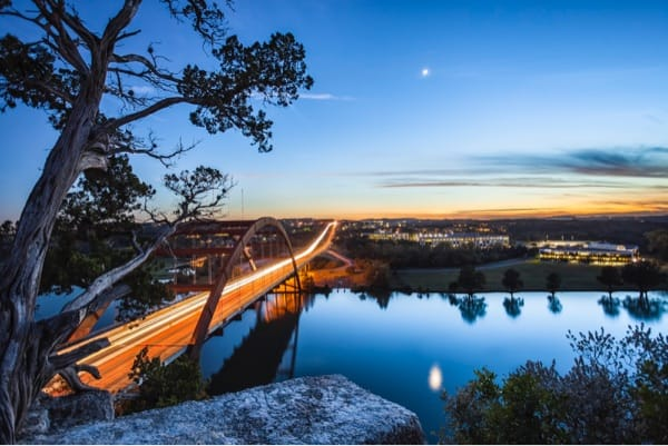 Pennybacker Bridge, Austin.