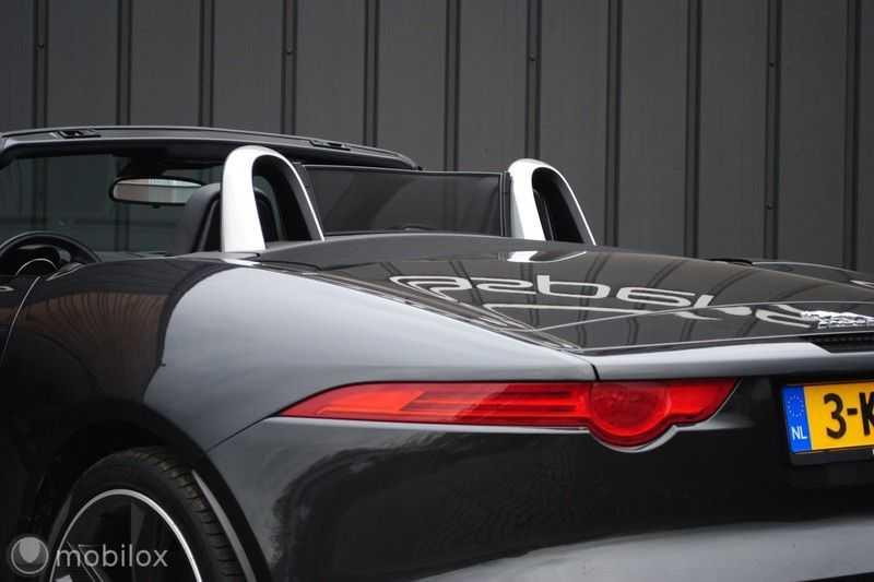 Jaguar F-Type 3.0 V6 Convertible   398 Pk, 500 Nm   Leder   afbeelding 6