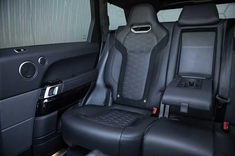 Land Rover Range Rover Sport SVR 5.0 V8 SC Meridian Reference Audio + Head Up + 360 Camera + Gekoelde/Verwarmde voorstoelen + Verwarmde  Achterbank + Carbon Motorkap Met Luchthappers + Ambianceverlichting afbeelding 14