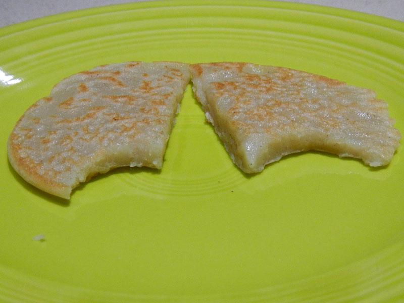 Pancake Results Without Baking Powder