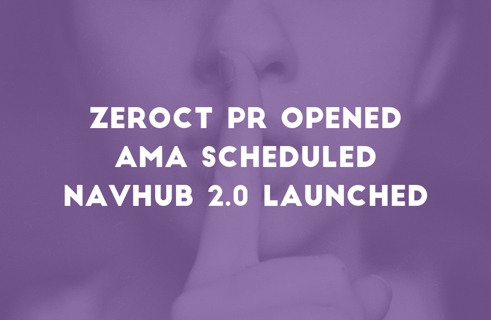 ZeroCT Pull Request Opened, AMA Scheduled