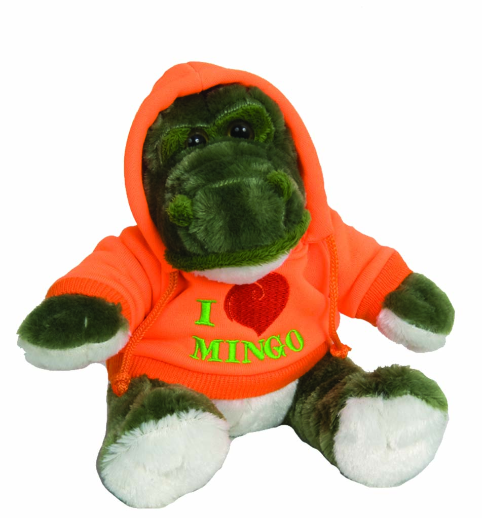 "The Petting Zoo: 9"" Hoodie Alligator"