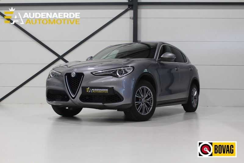 Alfa Romeo Stelvio 2.0 T AWD Super Veloce pack | Sportstoelen | Trekhaak | Adaptive cruise control | Leer afbeelding 25
