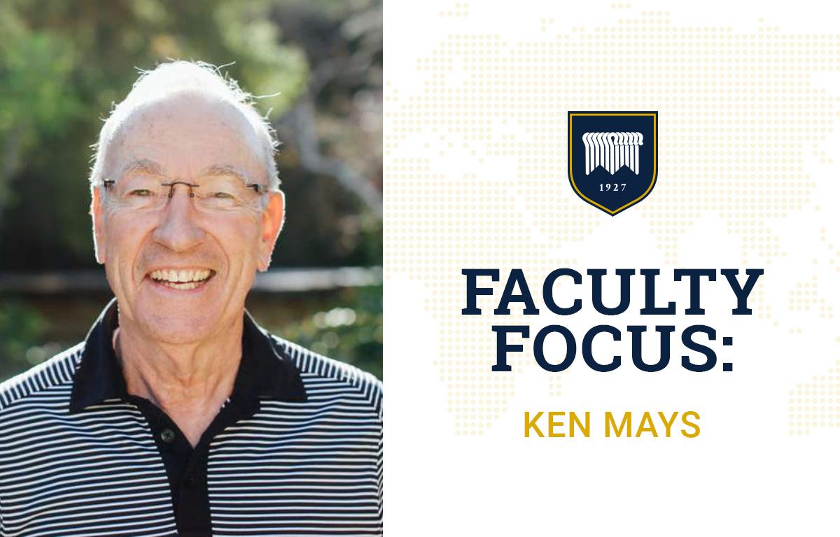 Faculty Focus: Ken Mays image