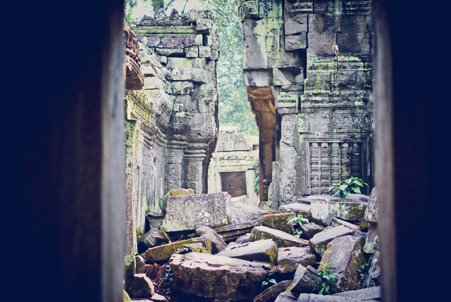 Banteay Kdei, ruins