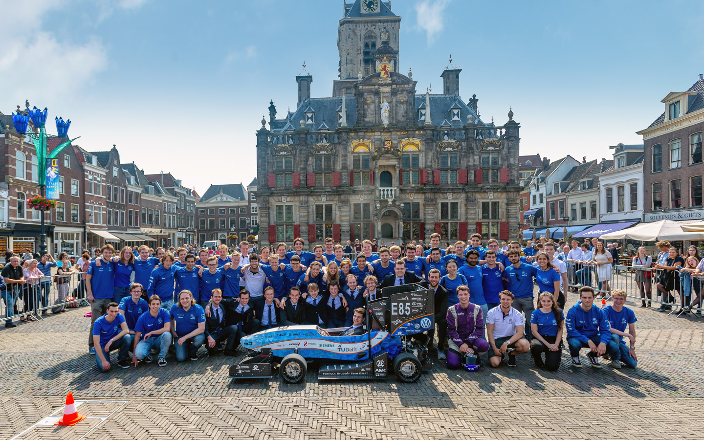 Image of a Formula Student Team Delft team