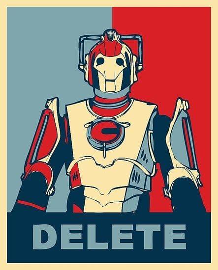 Cyberman DELETE