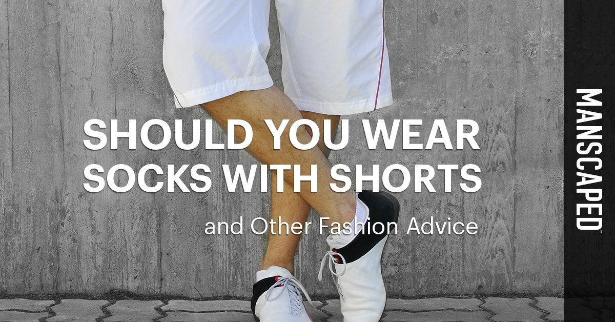 Should You Wear Socks with Shorts and Other Fashion Advice