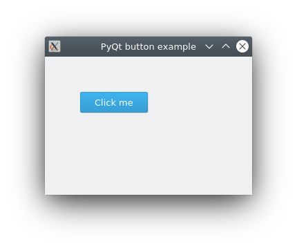 pyqt button example, QPushButton
