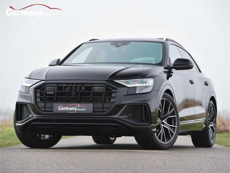 Audi Q8 50TDI 286pk Quattro S-Line Black Optic Lucht RS-zetels B&O High-end Alcant.Hemel TV Head-Up Standk ALLE OPTIES! afbeelding 1