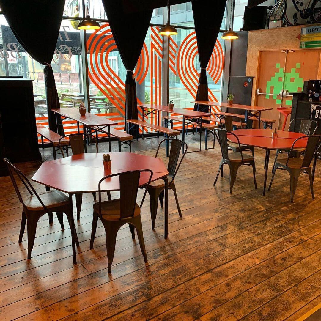 Inside 212 Café & Bar