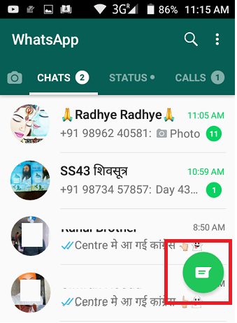 Whatsapp Contacts Not Showing Names On Android Covve