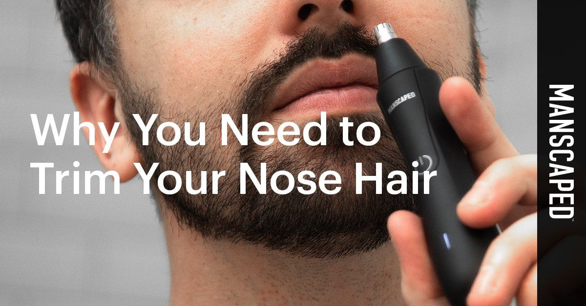Why You Need to Trim Your Nose Hair