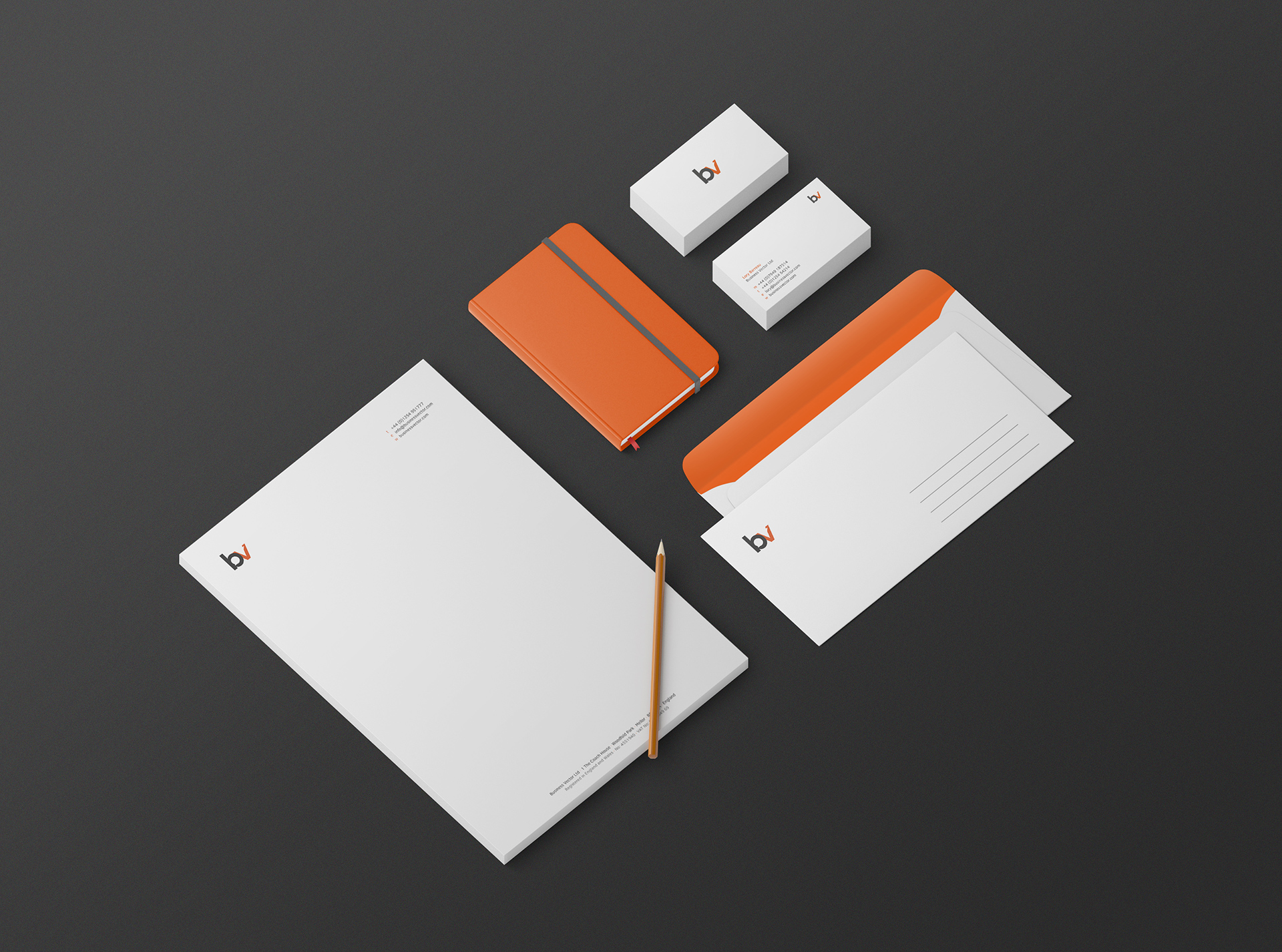 Branding and identity design for language experts, Business Vector