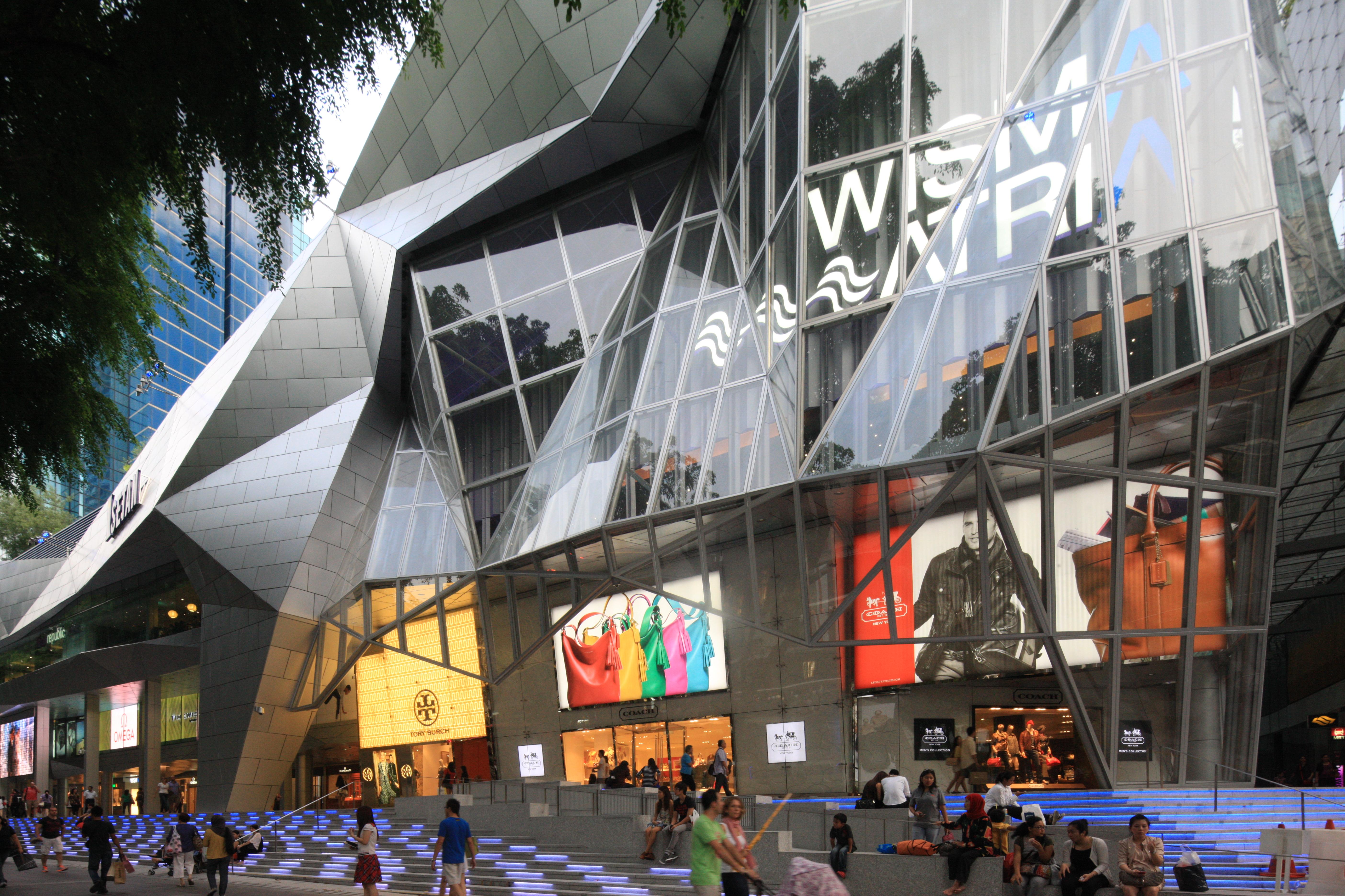 Wisma Atria 2012 by DP Architects
