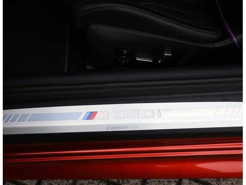 BMW 8 Serie M850i xDrive *Carbon*Soft-Close*Head-Up* afbeelding 22