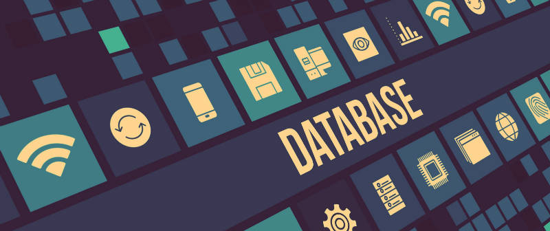 Database and icons