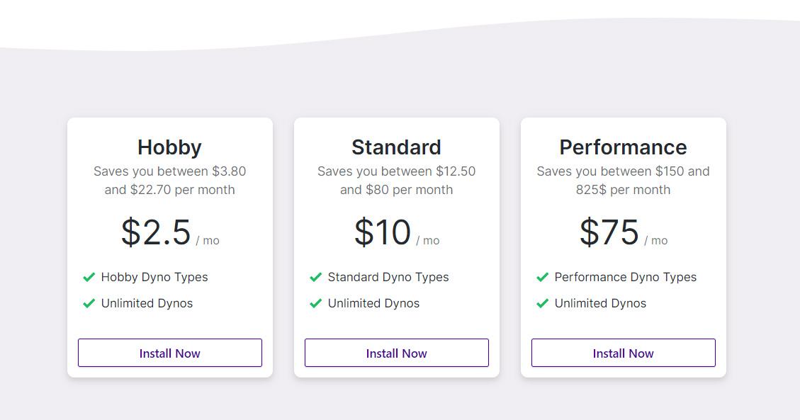 SaaS Landing Page Tips with Josh Garofalo: Screenshot of Autoidle's pricing