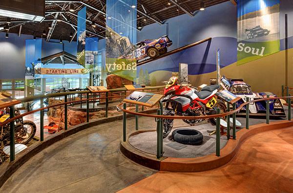Pikes Peak Hill Climb Experience Museum cars
