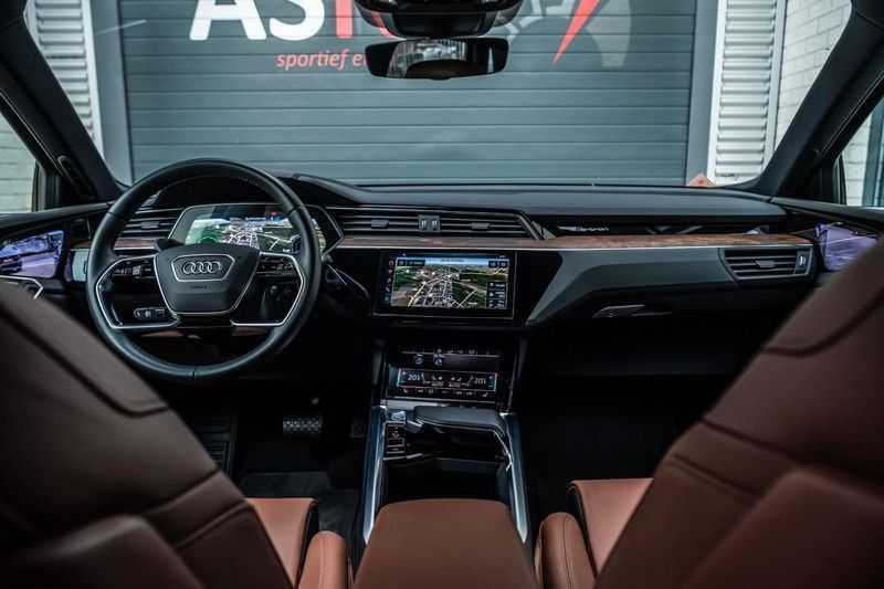 Audi e-tron 55 quattro advanced Pro Line Plus, 408 PK, 4% Bijtelling, Luchtvering, Surround View, Stad/Tour Pakket, B&O, EX. BTW!! afbeelding 14