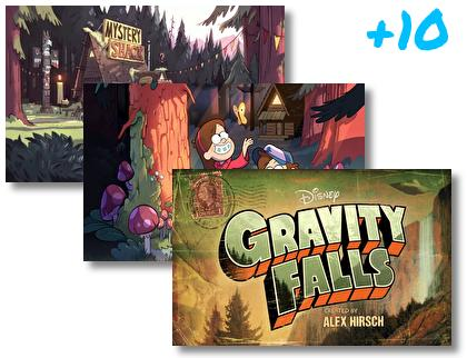 Gravity Falls theme pack