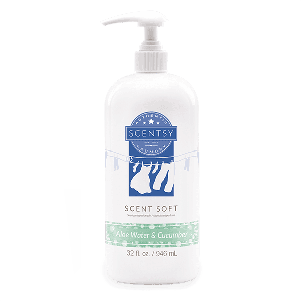Aloe Water & Cucumber Scent Soft Fabric Softener