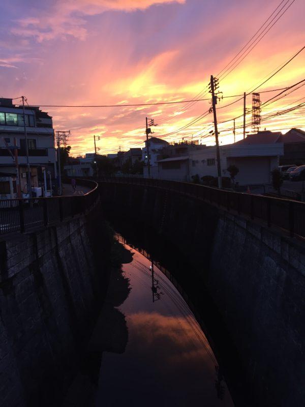 Tokyo_late_summer_sunset