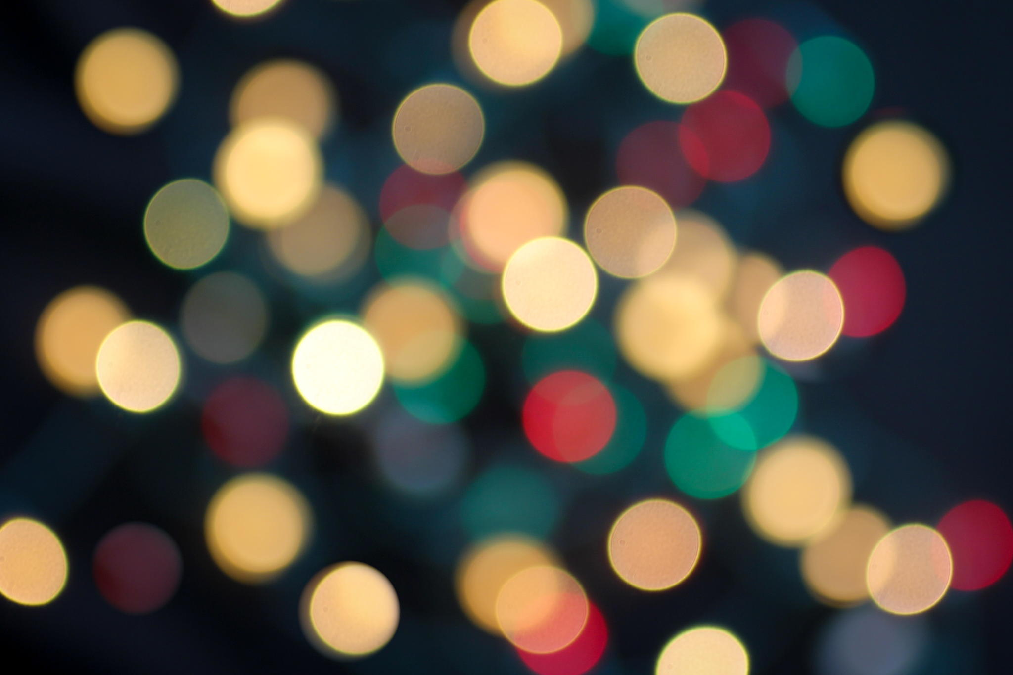 """""""Christmas Bokeh"""" by Terri (Doak) Taylor"""