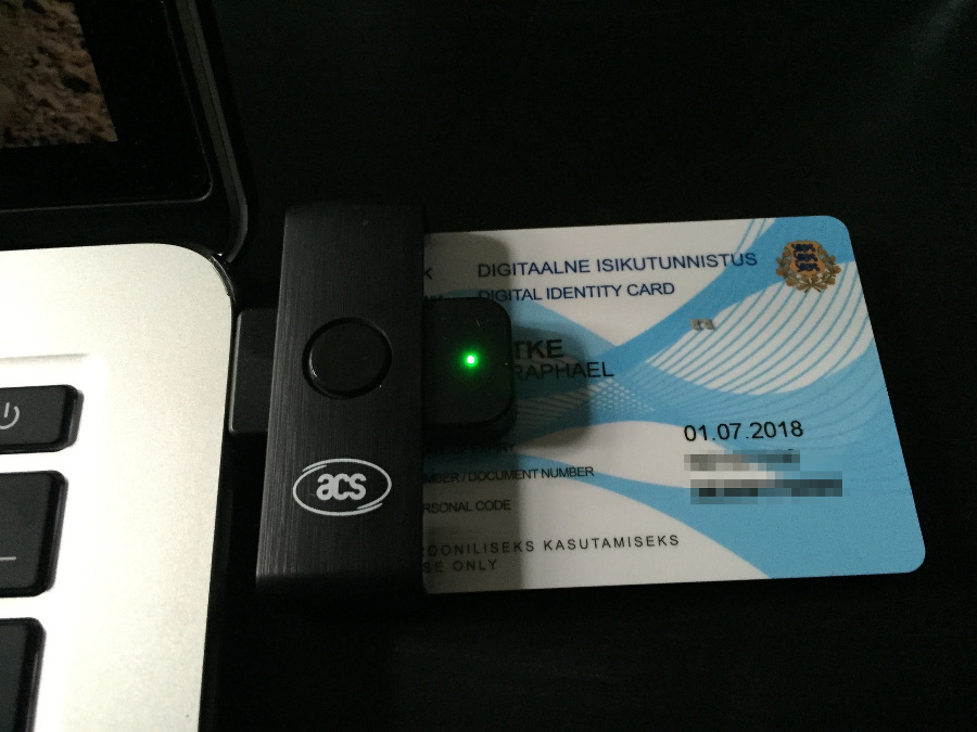e-residency card reader