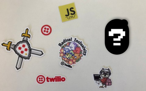 Twilio swag you can get